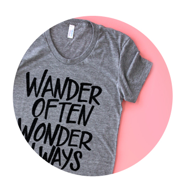 Wander Often Wonder Always Tote Bag