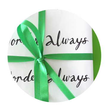Shop Wander Often Wonder Always Gift Wrap