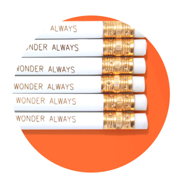 Wander Often Wonder Always Pencil Set